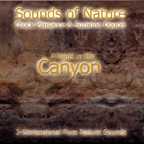A NIGHT IN THE CANYON (Sounds of Nature Series)