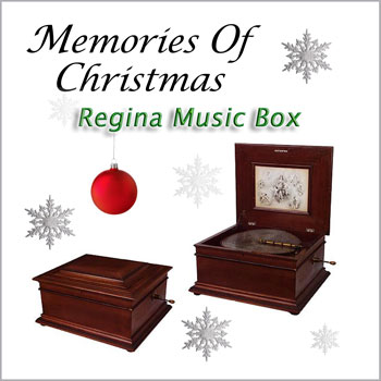 REGINA MUSIC BOX - Memories Of Christmas