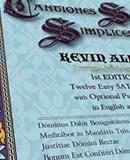 CD: Cantiones Sacrae Simplices (KEVIN ALLEN)
