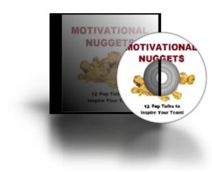Motivational Nuggets Pep Talks