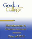 Gordon College Commencement Ceremonies 2005
