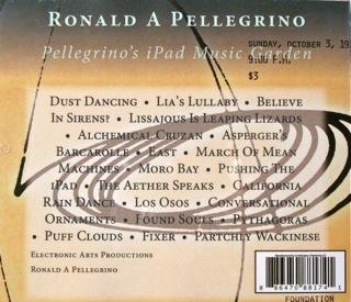 Pellegrino's iPad Music Garden