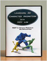 PART 2 - Learning 3D Character Animation with Jeff Lew