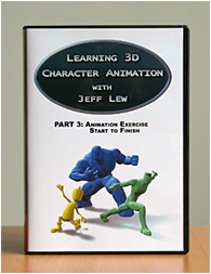 PART 3 - Learning 3D Character Animation with Jeff Lew