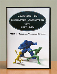 PART 1 - Learning 3D Character Animation with Jeff Lew