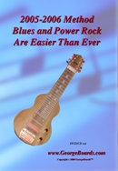 Lap Steel Guitar Instructional DVD GeorgeBoards  Blues and Power Rock Are Easier Than Ever - (NTSC)
