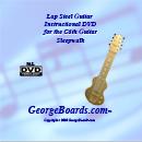 Lap Steel Guitar Instructional DVD GeorgeBoards Sleepwalk (PAL)