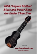 Lap Steel Guitar GeorgeBoards 2004 Original Blues and Power Rock Are Easier Than Ever (NTSC)