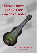 Lap Steel Guitar Instructional DVD GeorgeBoards Basics Minors (NTSC)