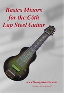 Lap Steel Guitar Instructional DVD GeorgeBoards Basics Minors (PAL)