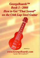 """Lap Steel Guitar Instructional DVD GeorgeBoards Book 1 - 2008 How to Get """"That Sound"""""""
