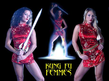 KUNG FU FEMMES, Volume One