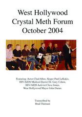 West Hollywood Crystal Meth Forum 2004