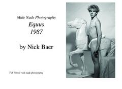 Male Nude Photography: Equus 1987