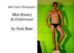 Male Nude Photography- Matt Kinney In Underwear