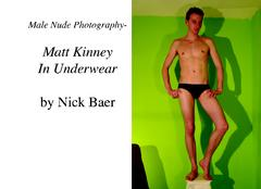 Male Nude Photography- Matt Kinney In Underwear