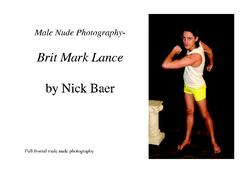 Male Nude Photography- Brit Mark Lance