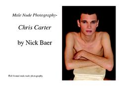 Male Nude Photography- Chris Carter