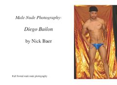 Male Nude Photography- Diego Bailon