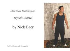 Male Nude Photography- Mycal Gabriel