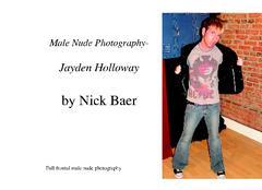 Male Nude Photography- Jayden Holloway