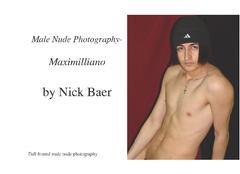 Male Nude Photography- Maximilliano