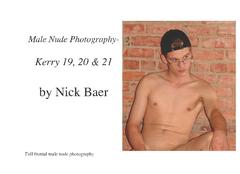 Male Nude Photography- Kerry 19, 20 & 21