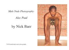 Male Nude Photography - Alec Paul