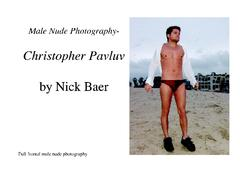 Male Nude Photography- Christopher Pavluv