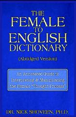 The Female-To-English Dictionary