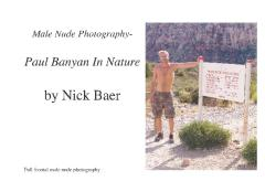 Male Nude Photography- Paul Banyan In Nature