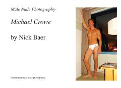 Male Nude Photography- Michael Crowe