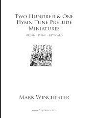 201 Hymn Tune Prelude Miniatures