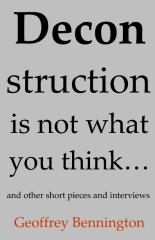 Deconstruction Is Not What You Think...