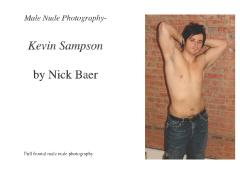 Male Nude Photography- Kevin Sampson
