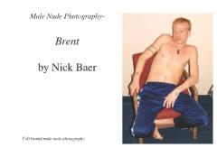 Male Nude Photography- Brent