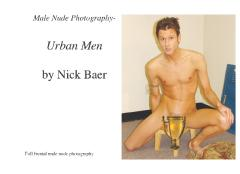 Male Nude Photography- Urban Men