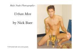 Male Nude Photography- Urban Men
