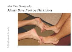 Male Nude Photography- Manly Bare Feet