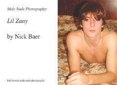 Male Nude Photography- Lil Zany