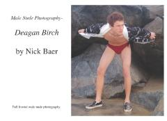 Male Nude Photography- Deagan Birch
