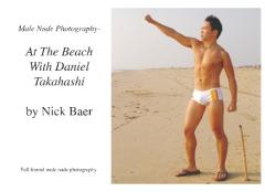 Male Nude Photography- At The Beach With Daniel Takahashi