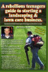 A Rebellious Teenagers Guide To Starting A Landscaping & Lawn Care Business.