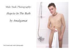 Male Nude Photography- Hapcio In The Bath