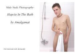 Male Nude Photography- Hapcio In The Bath