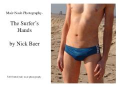 Male Nude Photography- Surfer's Hands