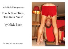 Male Nude Photography- Touch Your Toes The Rear View