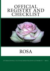 Official Registry And Checklist - Rosa