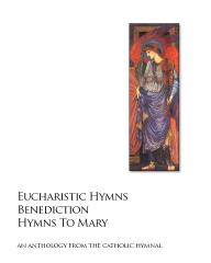 Eucharistic Hymns - Benediction - Hymns To Mary