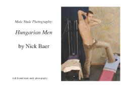 Male Nude Photography- Hungarian Men